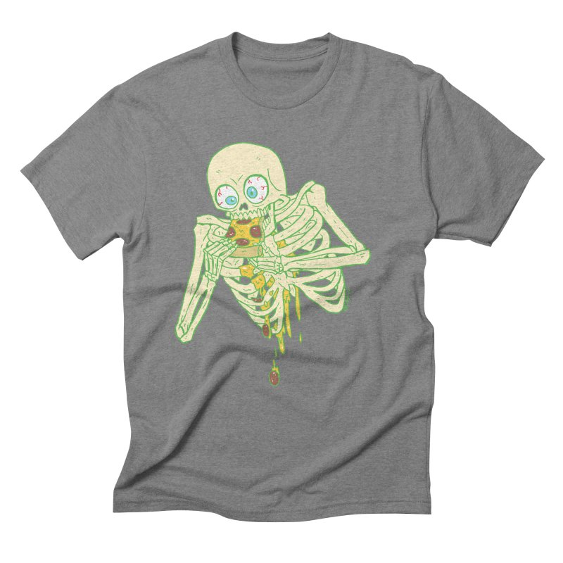 I'm So Pizza - Green Men's Triblend T-Shirt by brianmcl's Artist Shop