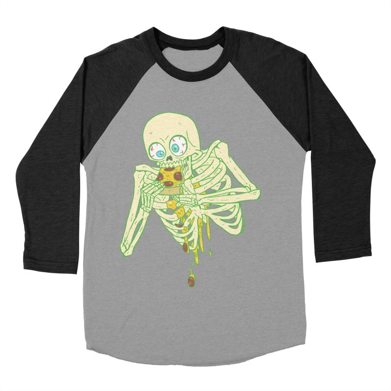 I'm So Pizza - Green Women's Baseball Triblend Longsleeve T-Shirt by brianmcl's Artist Shop