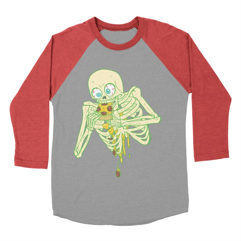 I'm So Pizza - Green Men's Baseball Triblend Longsleeve T-Shirt by brianmcl's Artist Shop
