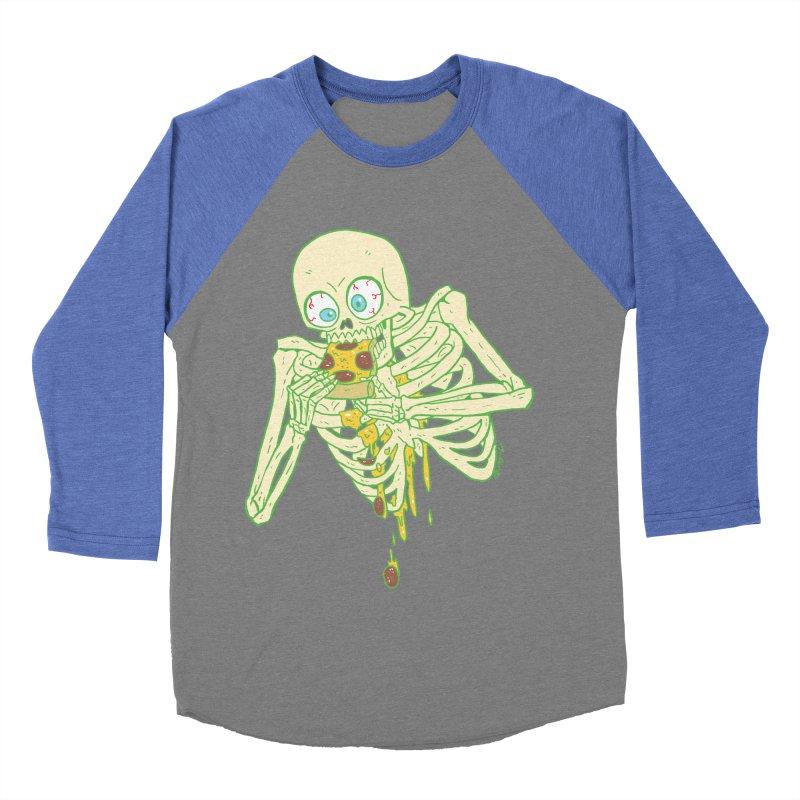 I'm So Pizza - Green Men's Baseball Triblend Longsleeve T-Shirt by brianmcl's Artist Shop