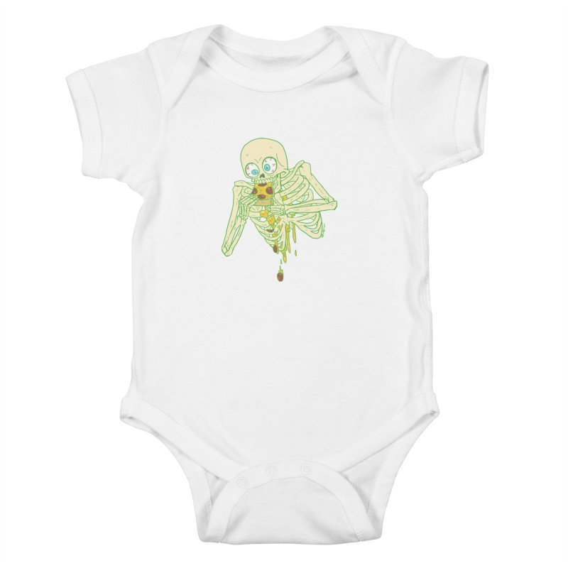 I'm So Pizza - Green Kids Baby Bodysuit by brianmcl's Artist Shop