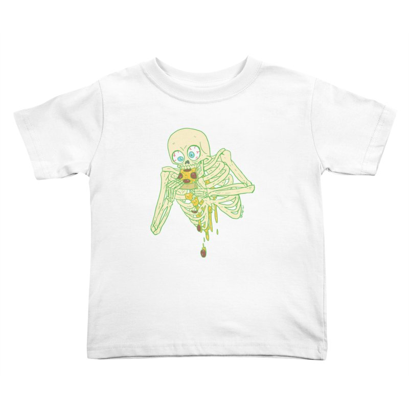 I'm So Pizza - Green Kids Toddler T-Shirt by brianmcl's Artist Shop