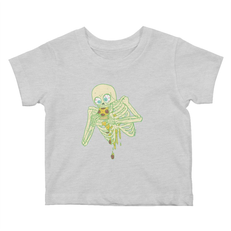 I'm So Pizza - Green Kids Baby T-Shirt by brianmcl's Artist Shop