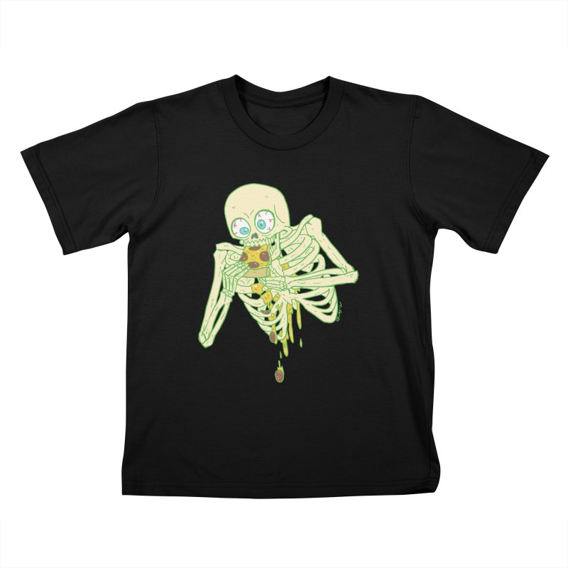 I'm So Pizza - Green Kids T-Shirt by brianmcl's Artist Shop