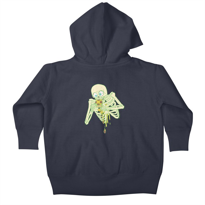 I'm So Pizza - Green Kids Baby Zip-Up Hoody by brianmcl's Artist Shop