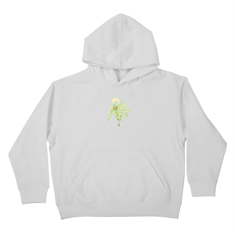 I'm So Pizza - Green Kids Pullover Hoody by brianmcl's Artist Shop