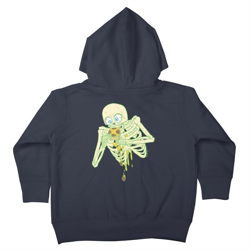 I'm So Pizza - Green Kids Toddler Zip-Up Hoody by brianmcl's Artist Shop