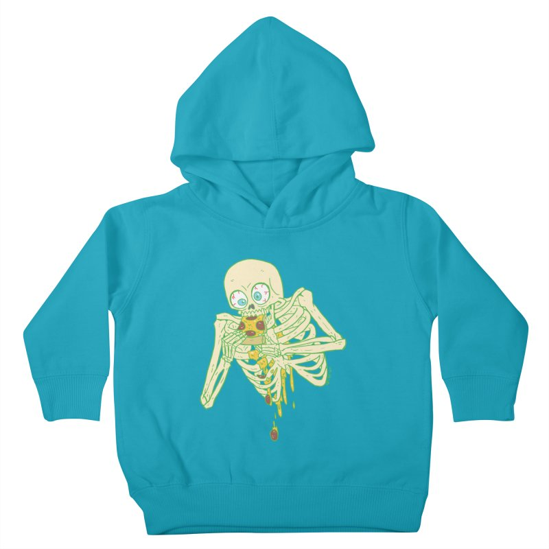 I'm So Pizza - Green Kids Toddler Pullover Hoody by brianmcl's Artist Shop