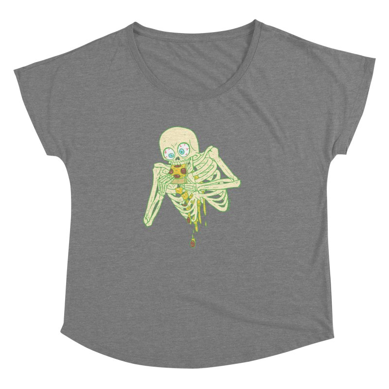 I'm So Pizza - Green Women's Scoop Neck by brianmcl's Artist Shop
