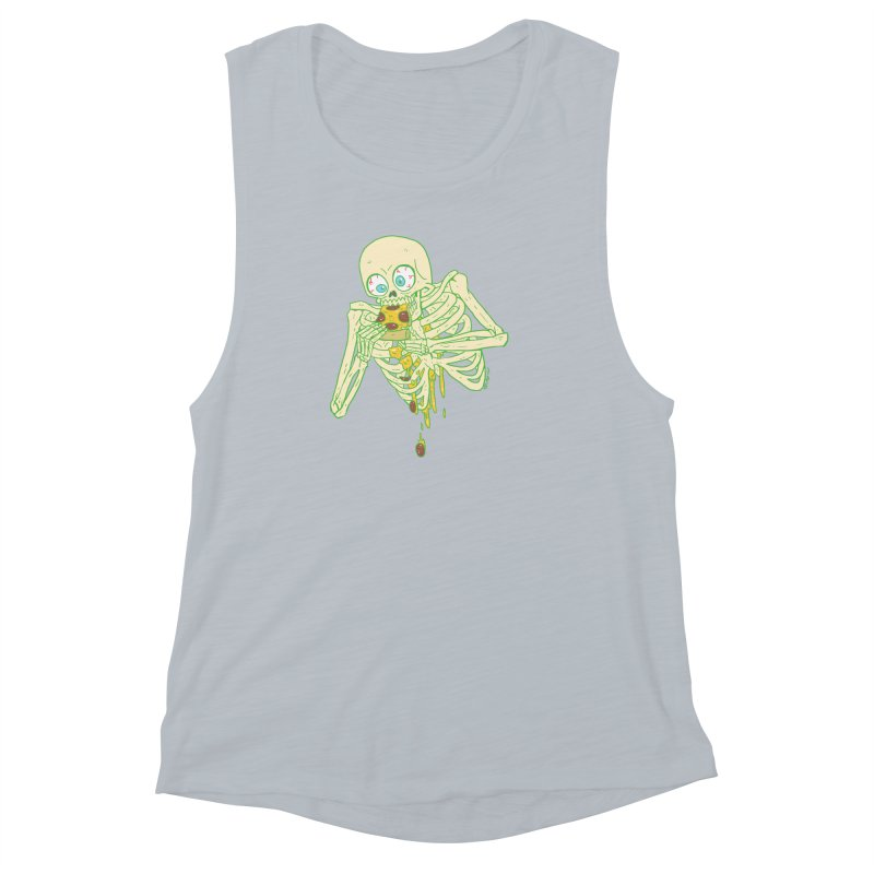 I'm So Pizza - Green Women's Muscle Tank by brianmcl's Artist Shop