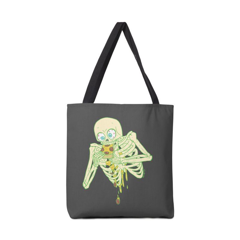 I'm So Pizza - Green Accessories Tote Bag Bag by brianmcl's Artist Shop