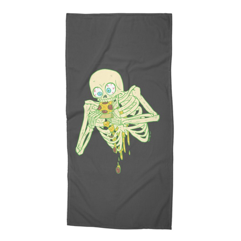 I'm So Pizza - Green Accessories Beach Towel by brianmcl's Artist Shop