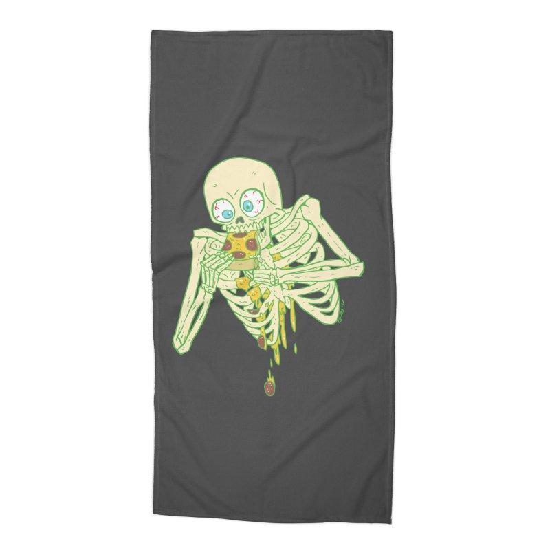 I'm So Pizza - Green Accessories Beach Towel by brianmcl's Artist Shop