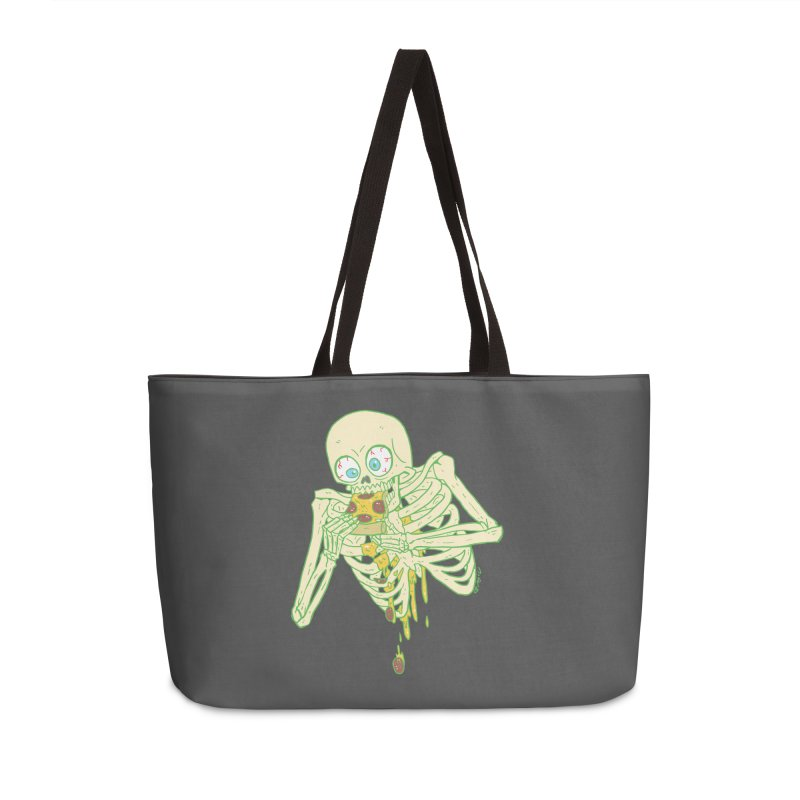 I'm So Pizza - Green Accessories Weekender Bag Bag by brianmcl's Artist Shop