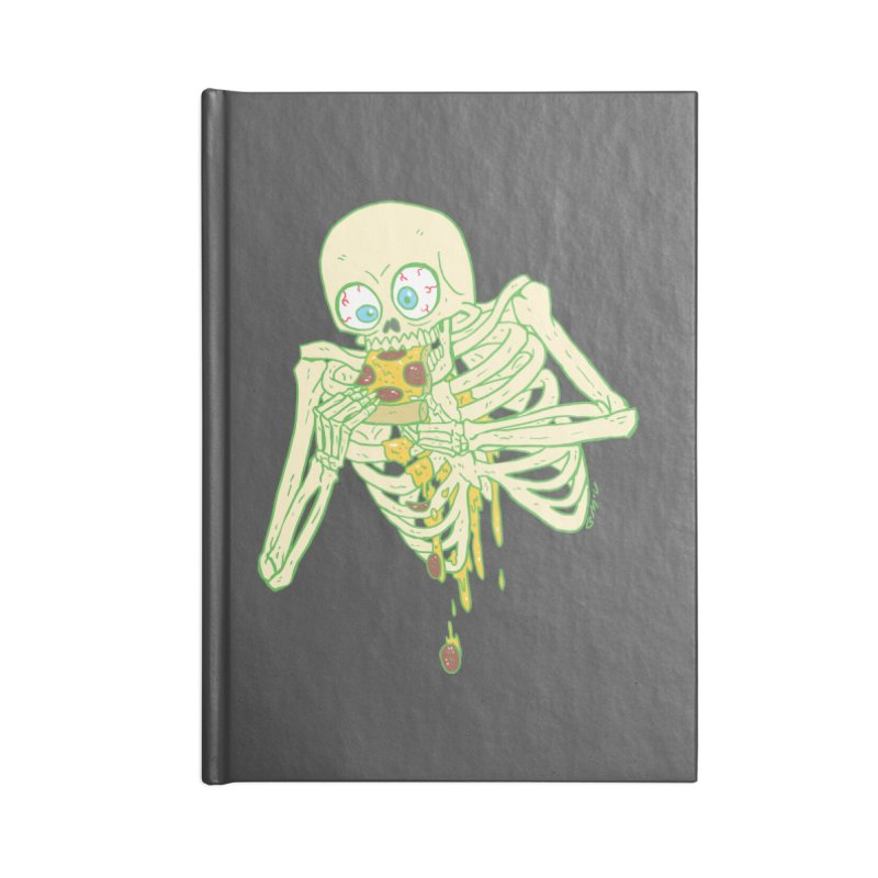 I'm So Pizza - Green Accessories Notebook by brianmcl's Artist Shop
