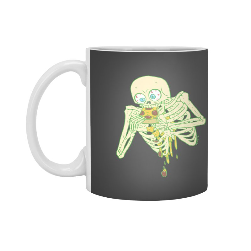 I'm So Pizza - Green Accessories Mug by brianmcl's Artist Shop