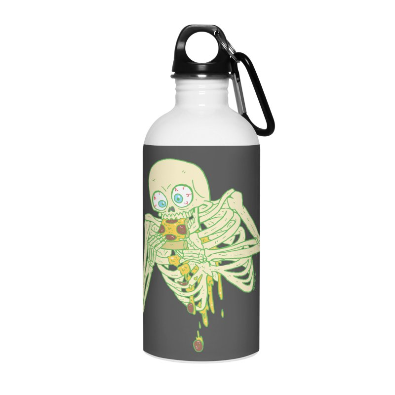 I'm So Pizza - Green Accessories Water Bottle by brianmcl's Artist Shop