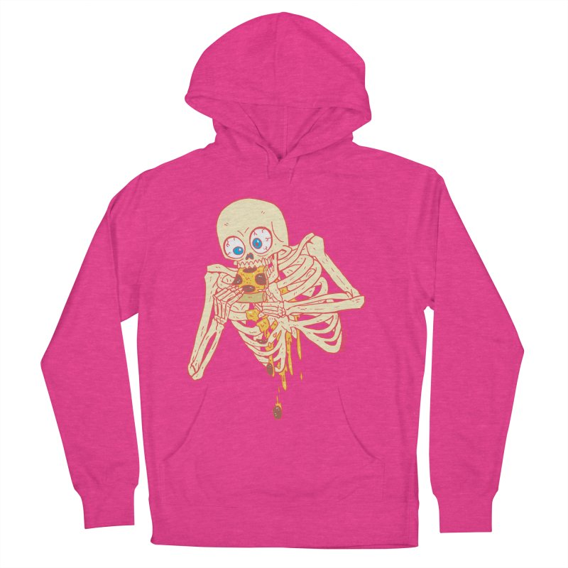 I'm So Pizza - Red Men's French Terry Pullover Hoody by brianmcl's Artist Shop