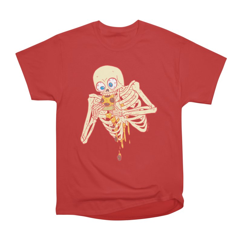 I'm So Pizza - Red Men's Heavyweight T-Shirt by brianmcl's Artist Shop