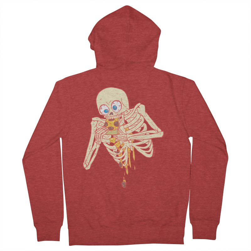 I'm So Pizza - Red Women's French Terry Zip-Up Hoody by brianmcl's Artist Shop