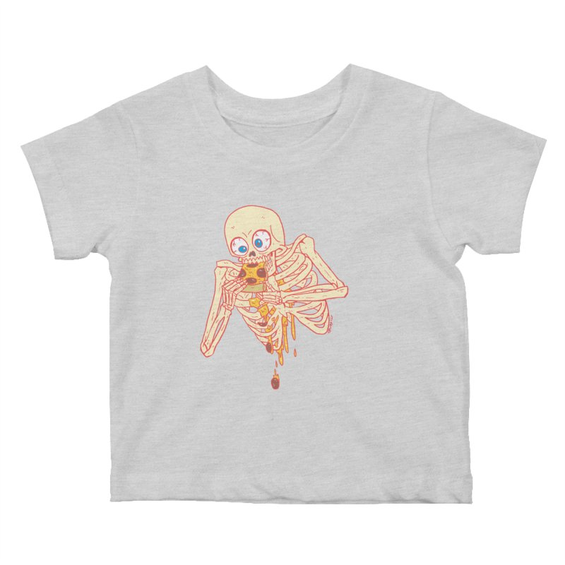 I'm So Pizza - Red Kids Baby T-Shirt by brianmcl's Artist Shop