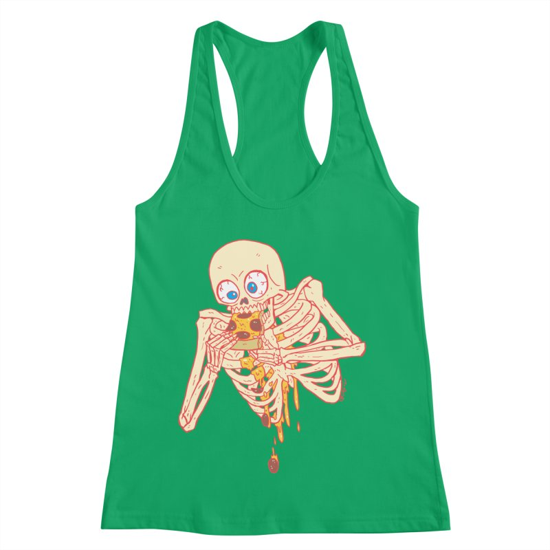 I'm So Pizza - Red Women's Racerback Tank by brianmcl's Artist Shop