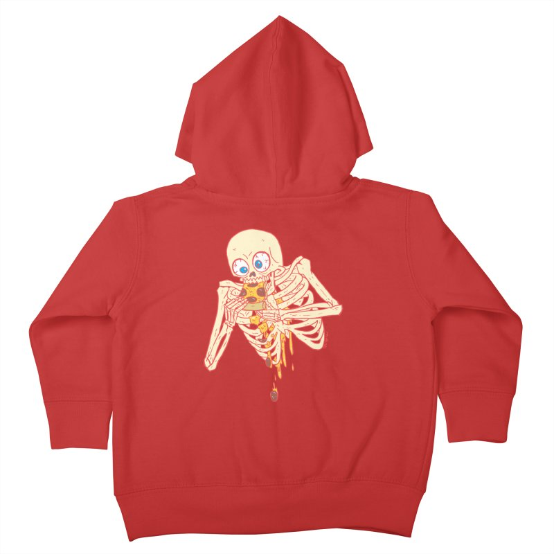 I'm So Pizza - Red Kids Toddler Zip-Up Hoody by brianmcl's Artist Shop