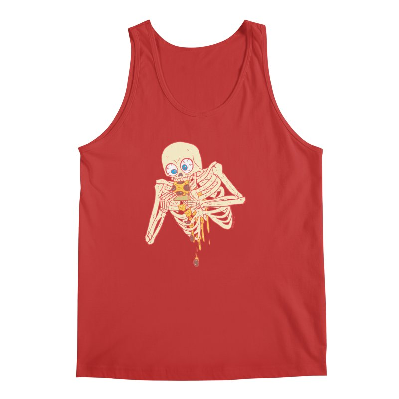 I'm So Pizza - Red Men's Regular Tank by brianmcl's Artist Shop