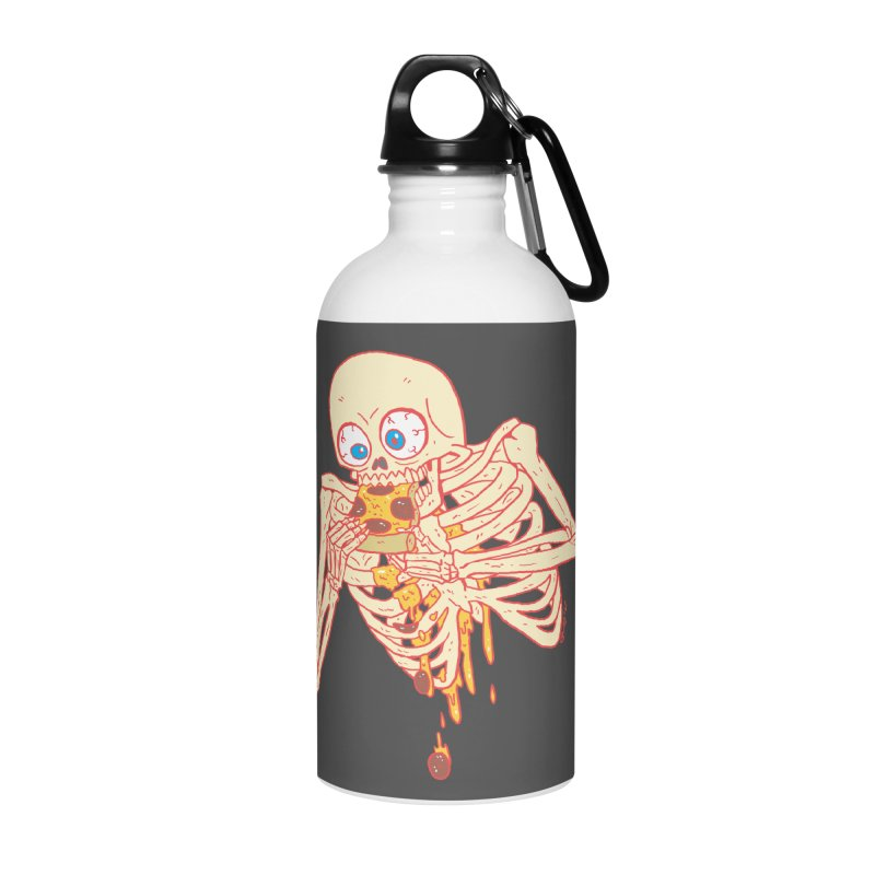 I'm So Pizza - Red Accessories Water Bottle by brianmcl's Artist Shop