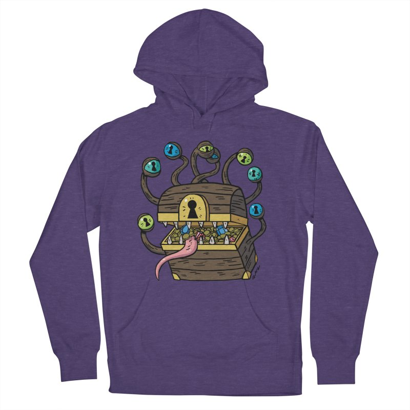 Meyemic Women's French Terry Pullover Hoody by brianmcl's Artist Shop