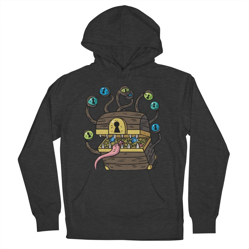 Meyemic Men's French Terry Pullover Hoody by brianmcl's Artist Shop