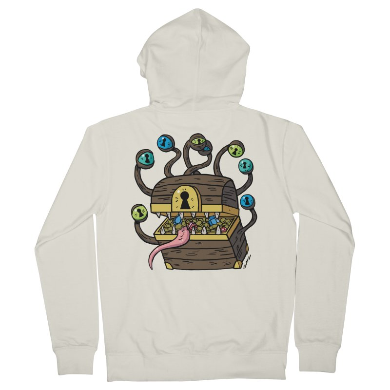 Meyemic Women's French Terry Zip-Up Hoody by brianmcl's Artist Shop