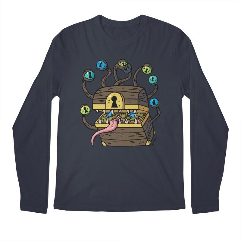 Meyemic Men's Regular Longsleeve T-Shirt by brianmcl's Artist Shop