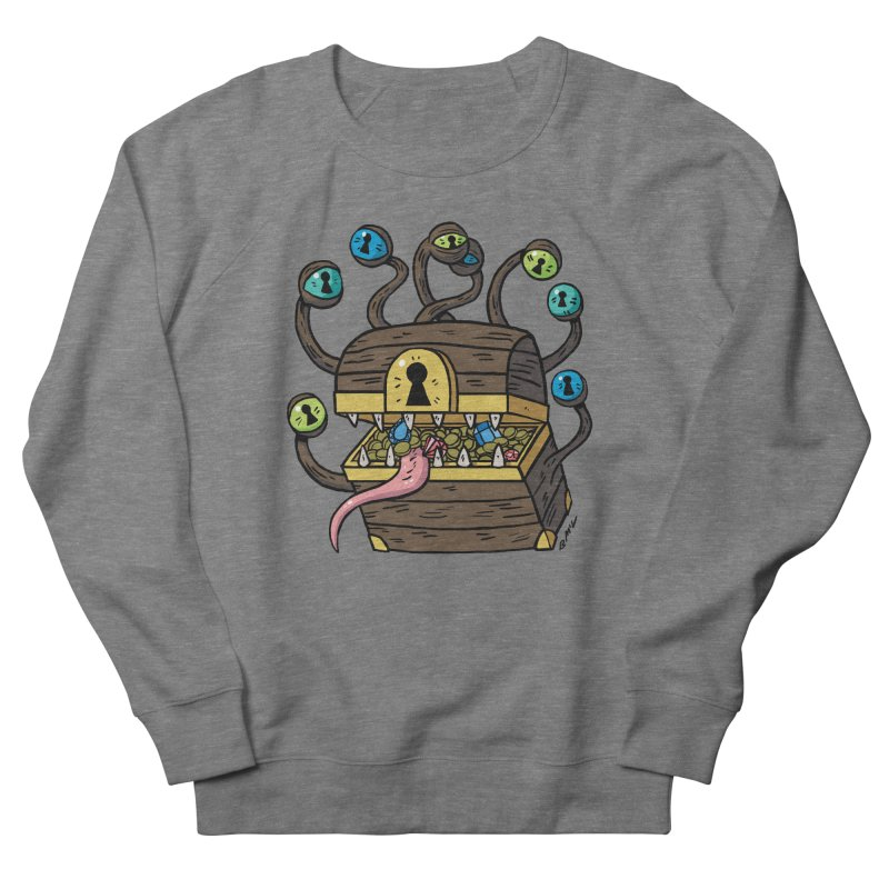 Meyemic Men's French Terry Sweatshirt by brianmcl's Artist Shop