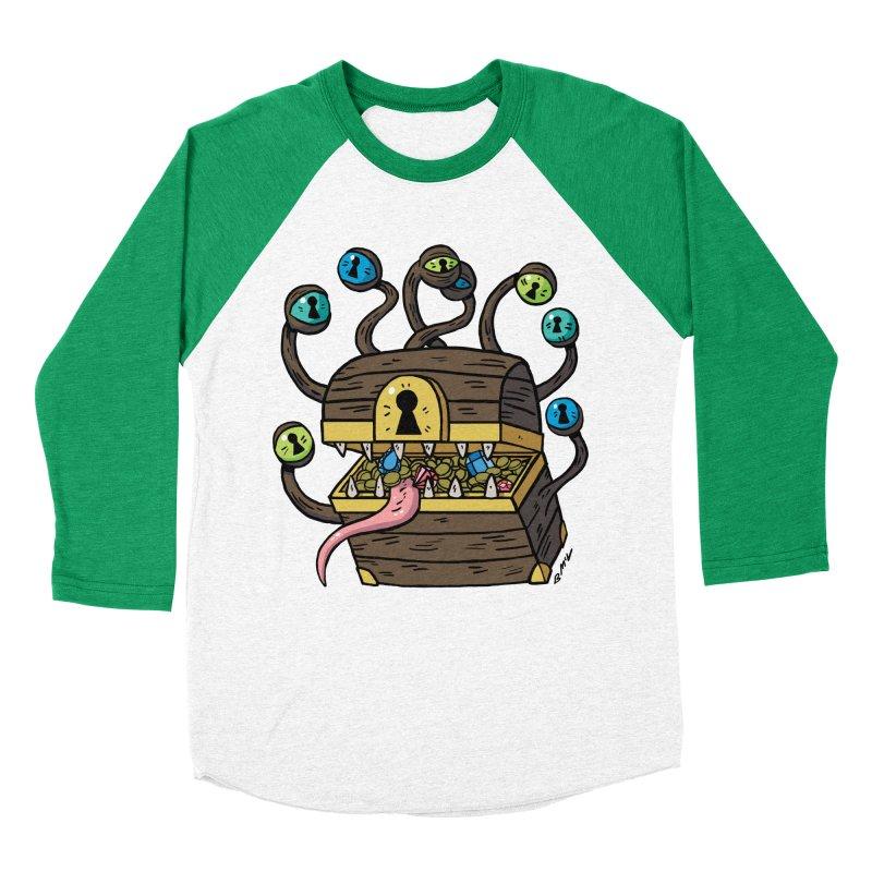 Meyemic Men's Baseball Triblend Longsleeve T-Shirt by brianmcl's Artist Shop