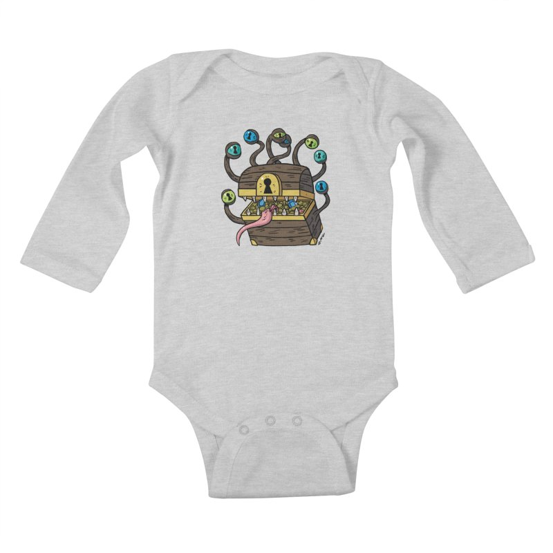 Meyemic Kids Baby Longsleeve Bodysuit by brianmcl's Artist Shop