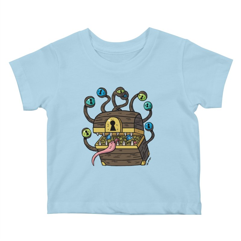 Meyemic Kids Baby T-Shirt by brianmcl's Artist Shop