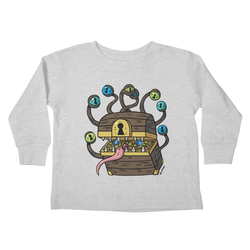 Meyemic Kids Toddler Longsleeve T-Shirt by brianmcl's Artist Shop