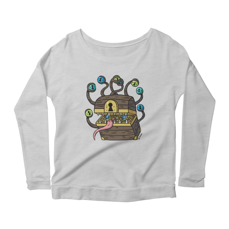 Meyemic Women's Scoop Neck Longsleeve T-Shirt by brianmcl's Artist Shop