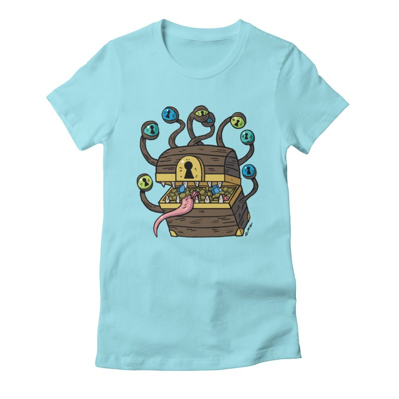 Meyemic Women's Fitted T-Shirt by brianmcl's Artist Shop