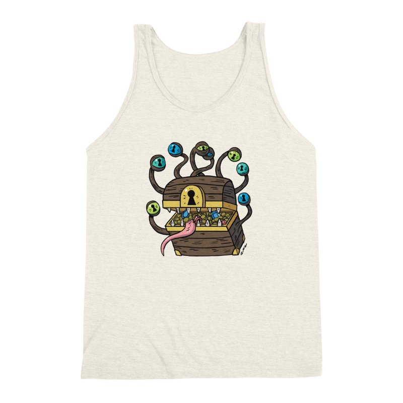 Meyemic Men's Triblend Tank by brianmcl's Artist Shop