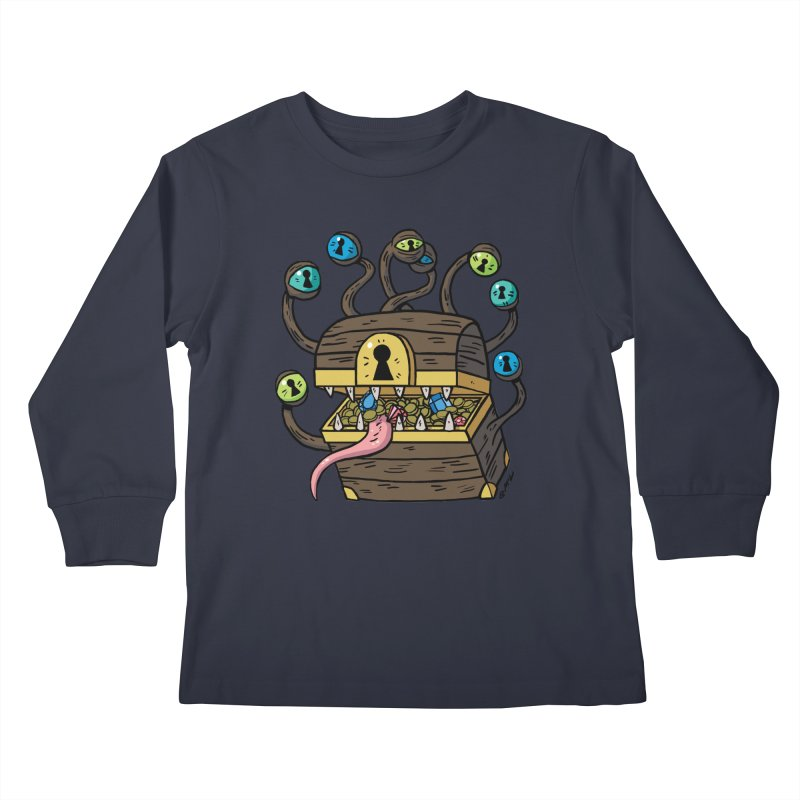 Meyemic Kids Longsleeve T-Shirt by brianmcl's Artist Shop