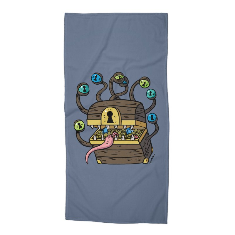 Meyemic Accessories Beach Towel by brianmcl's Artist Shop