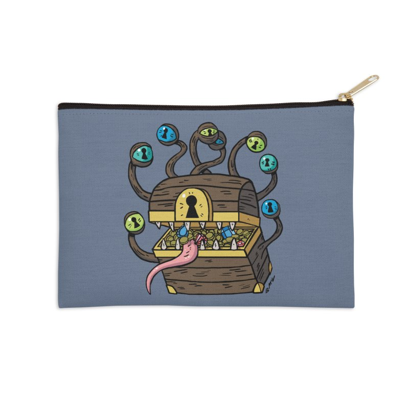 Meyemic Accessories Zip Pouch by brianmcl's Artist Shop