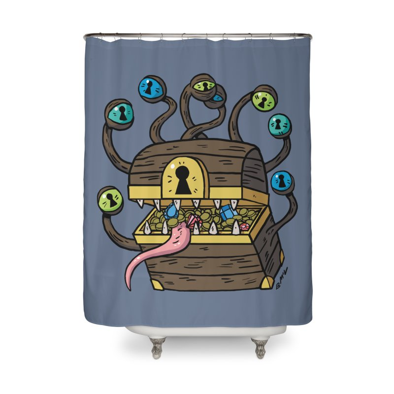 Meyemic Home Shower Curtain by brianmcl's Artist Shop