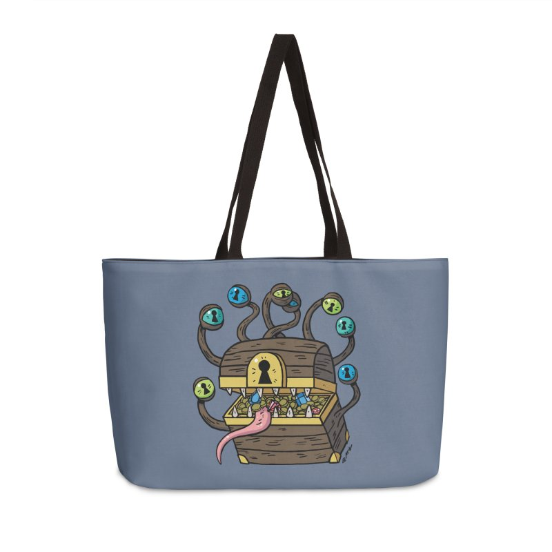 Meyemic Accessories Weekender Bag Bag by brianmcl's Artist Shop