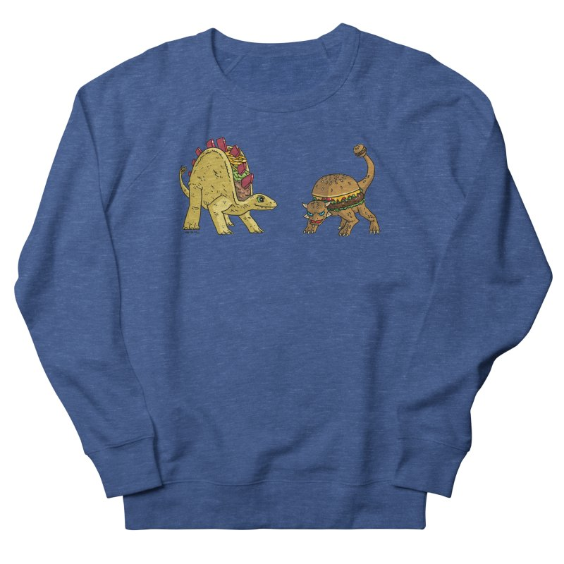 Taco and Burgersaurus Men's Sweatshirt by brianmcl's Artist Shop
