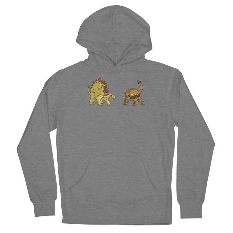 Taco and Burgersaurus Women's Pullover Hoody by brianmcl's Artist Shop