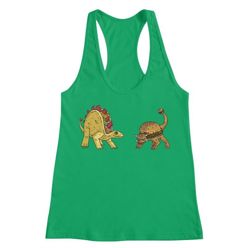 Taco and Burgersaurus Women's Tank by brianmcl's Artist Shop