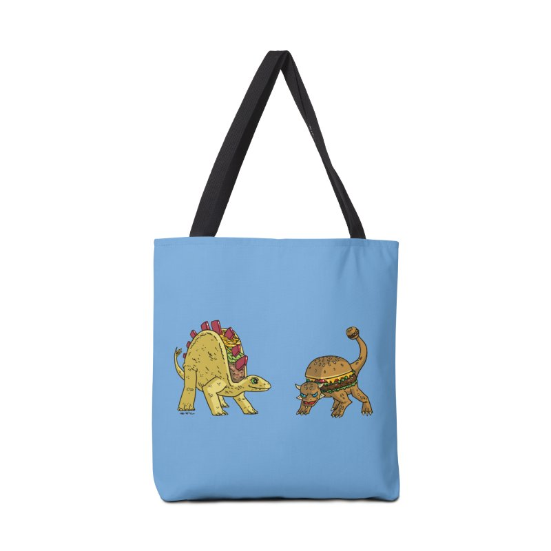 Taco and Burgersaurus Accessories Tote Bag Bag by brianmcl's Artist Shop